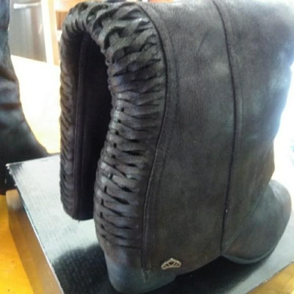 19f723ba3fc Fergalicious knee high boots 12w
